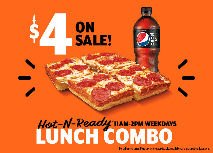 Little Caesars Offers Large Lunch Deal For Little Dough