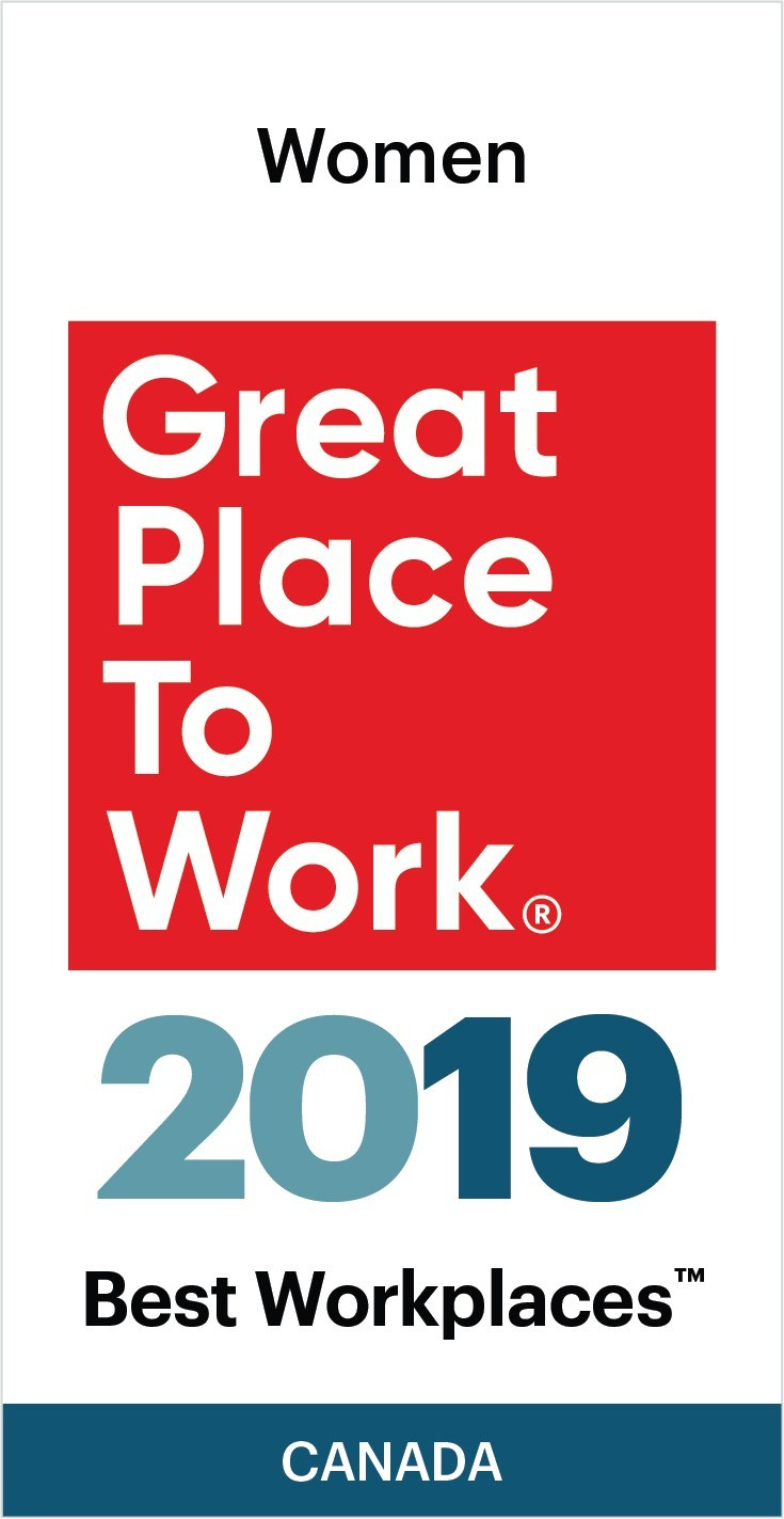 SAS Institute Canada Inc made it to the 2019 List of Best Workplaces™ for Women (CNW Group/SAS Canada)