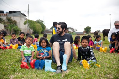 Samuel Bistrian, Founder and CEO of ROMA Boots, in Guatemala August 2017.