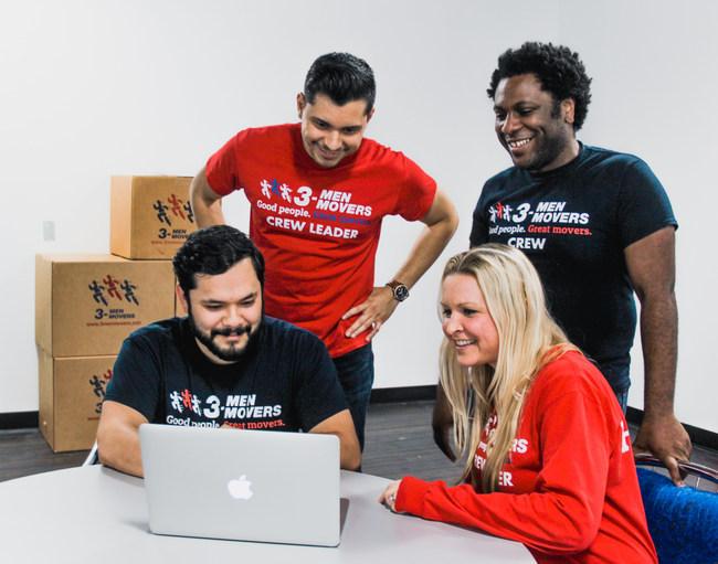 The 3 Men Movers Millennial Development Team