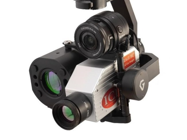 ICI Optical Gs Imaging Camera and Laser