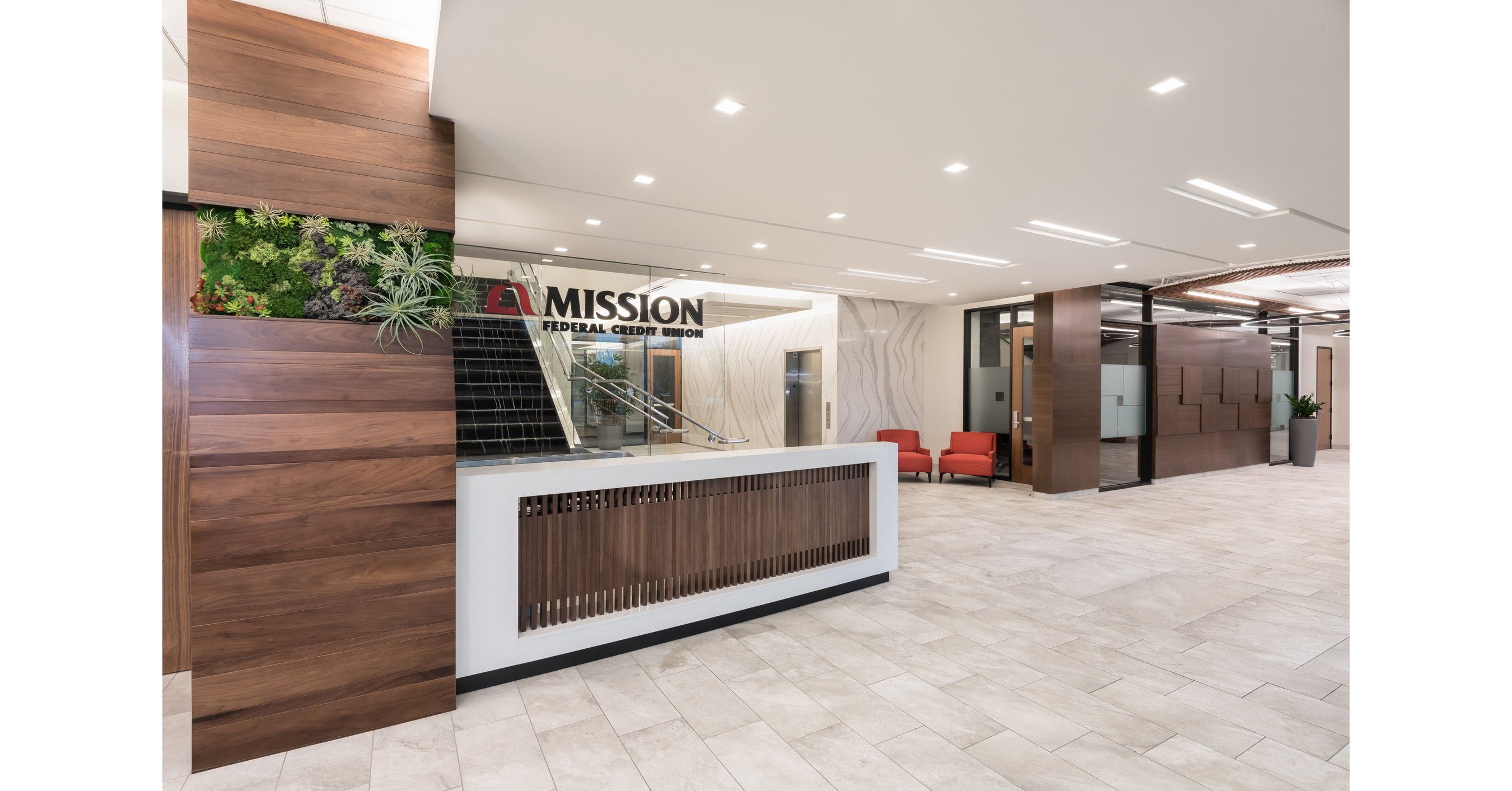Mission Federal Credit Union S New Headquarters Boasts Function And Plenty Of Aesthetics