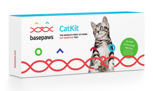 Innovative new Basepaws Cat DNA Kit