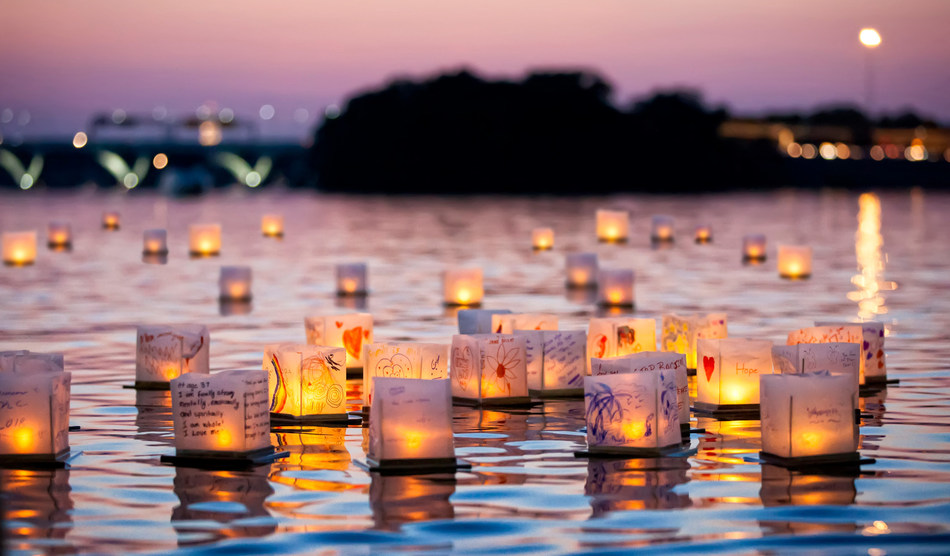 Photo of Water Lantern Festival