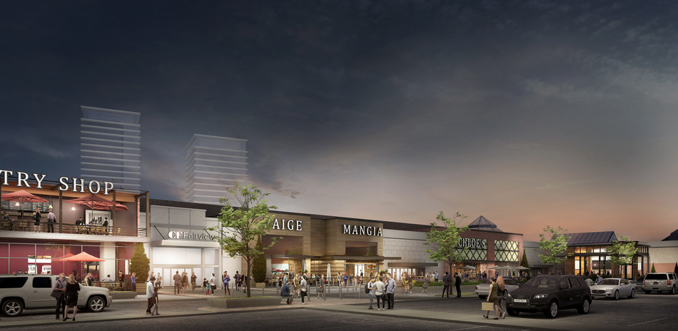 Cadillac Fairview and TD Greystone announce Bold Vision for CF Fairview Mall (CNW Group/Cadillac Fairview)