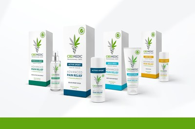CBDMEDIC Launches Topical Pain Relief Medications (CNW Group/Abacus Health Products)