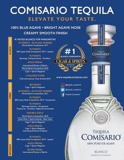 Tequila Comisario BIN Awards