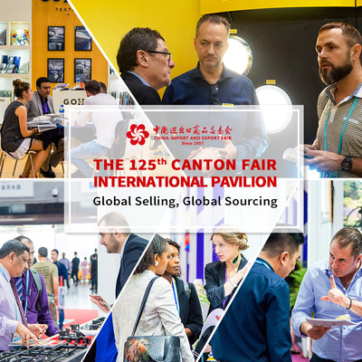"""Canton Fair International Pavilion offers a one-stop platform for """"Global selling, Global sourcing"""" and continues to help exhibitors with their internationalization."""