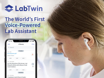 LabTwin records and automatically transcribes voice notes so scientists can keep eyes and hands on experiments.