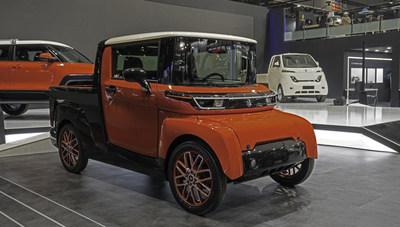 松果汽车推出NeuWai经济型电动汽车和替代能源汽车