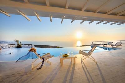 Sunset in White Vista, Kastro, Mykonos