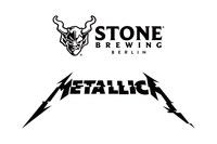 Logo Stone Brewing Berlin, Logo Metallica