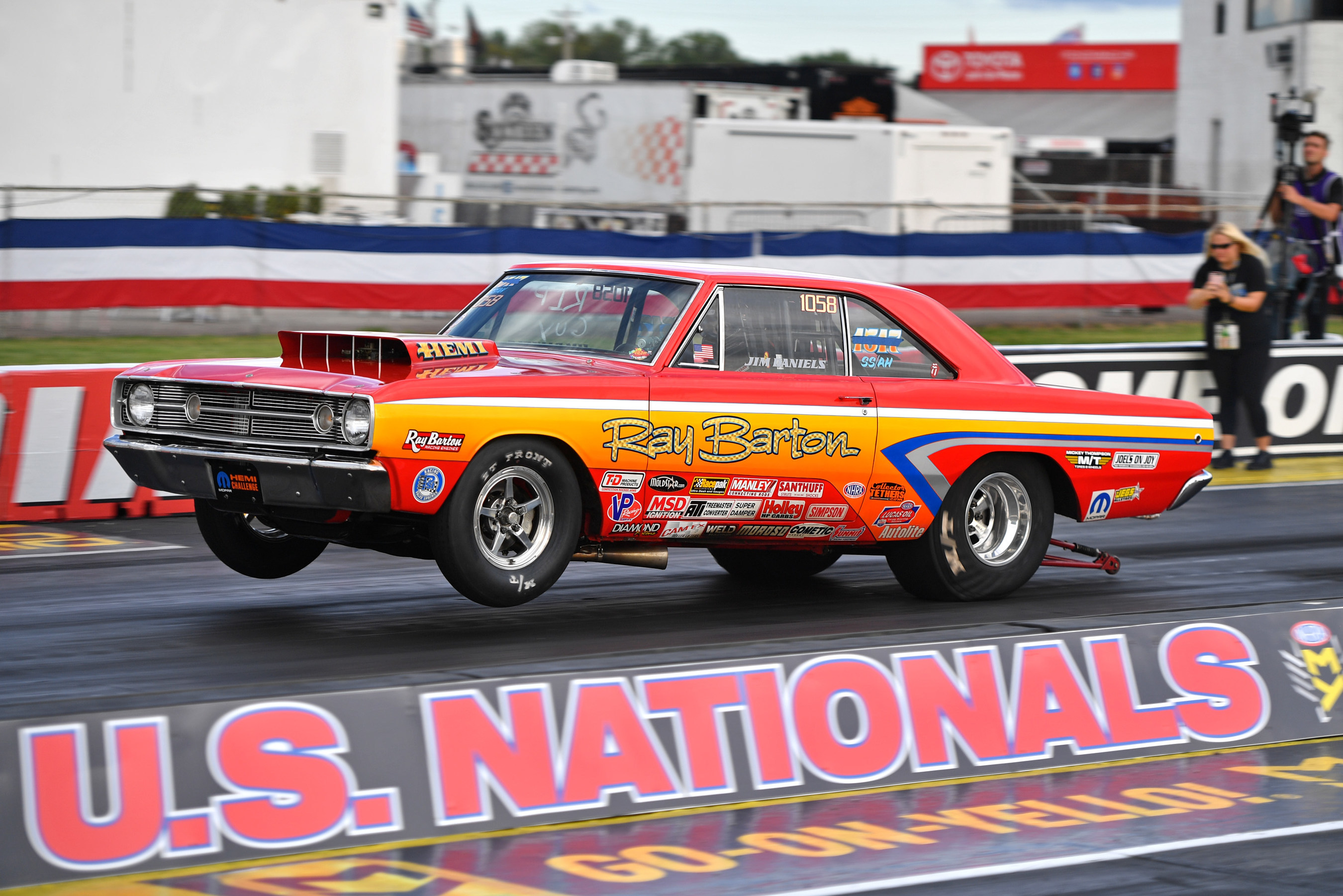 The 19th Annual NHRA Dodge HEMI® Challenge will take place on August 29-30, 2019, at Lucas Oil Raceway at Indianapolis during the NHRA U.S. Nationals. Mopar-powered 1968 Dodge Dart and Plymouth Barracuda Super Stock cars will compete head-to-head in the fan-favorite event.