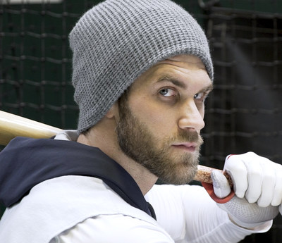 Bryce Harper will wear ACUVUE(R) OASYS with Transitions(TM) for the 2019 season