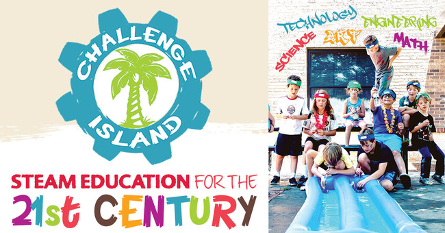 Challenge Island is STEAM Education for the 21st Century
