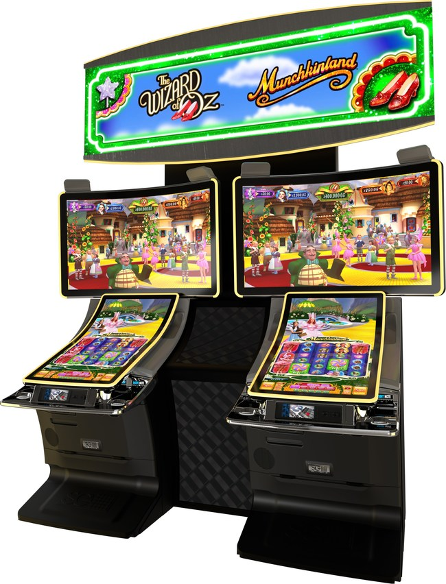 Scientific Games Corporation launched MUNCHKINLAND, the newest game in its successful THE WIZARD OF OZ slot series based on the classic 1939 movie.