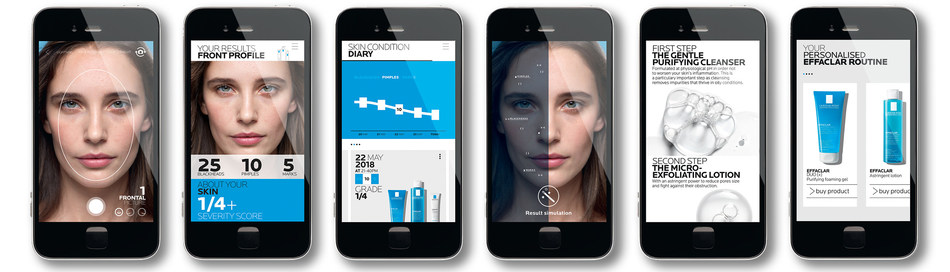 After MY UV Patch, La Roche-Posay is taking a step further in skincare technology with  EFFACLAR SPOTSCAN, the first acne analyzer powered by artificial intelligence (CNW Group/La Roche-Posay)