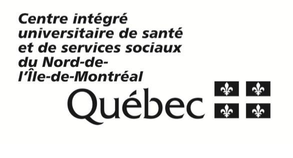 Logo : Centre intégré universitaire de santé et de services sociaux du Nord-de-l'Île-de-Montréal (Groupe CNW/Reacts)
