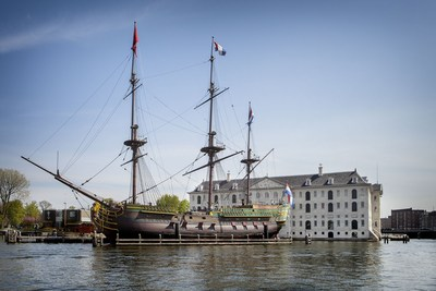 A new look for the National Maritime Museum  (Het Scheepvaartmuseum) in Amsterdam