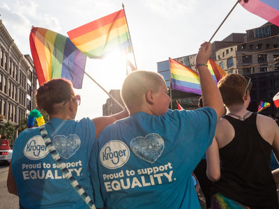 Human Rights Campaign Foundation recognizes Kroger as one of the Best Places to Work for LGBTQ Equality.