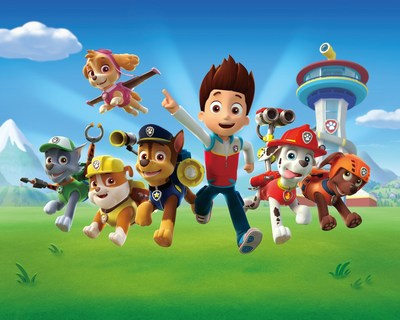 PAW Patrol (Courtesy: Spin Master) (CNW Group/Spin Master)