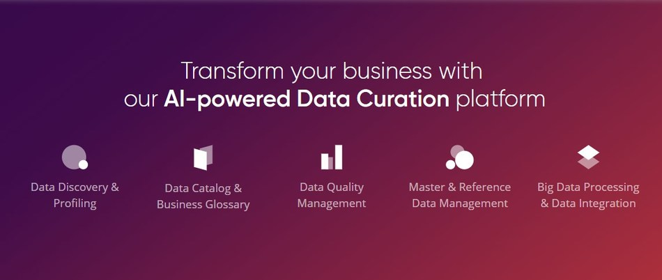 Analyze, process, manage, monitor, and provide data with Ataccama ONE—an AI‑powered data curation platform for digital transformation. (CNW Group/Ataccama)
