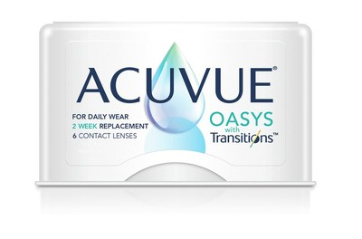 ACUVUE® OASYS avec Transitions™ (PRNewsfoto/Johnson & Johnson Vision)