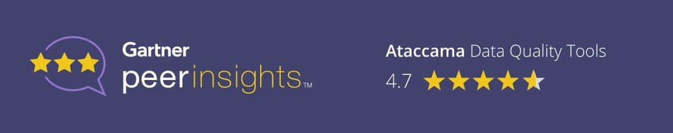 Ataccama - Visionaries for the 9th year in a row in the 2019 Gartner Magic Quadrant for Data Quality Tools (CNW Group/Ataccama)