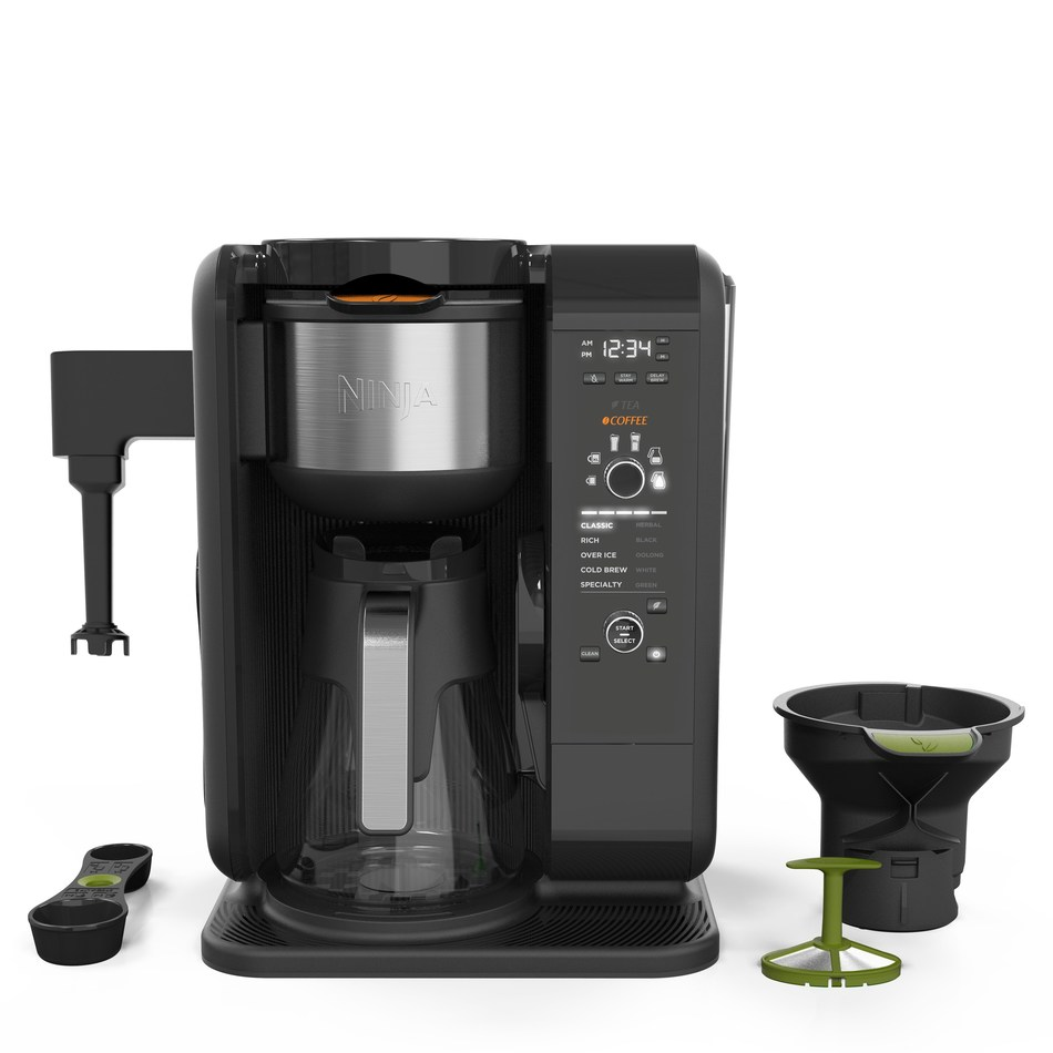 The Ninja Hot & Cold Brewed System offers a vast array of quality coffee and tea-brewing options, from smooth, naturally sweet cold brew in as little as 10 minutes to frothy chai lattes and cappuccinos.