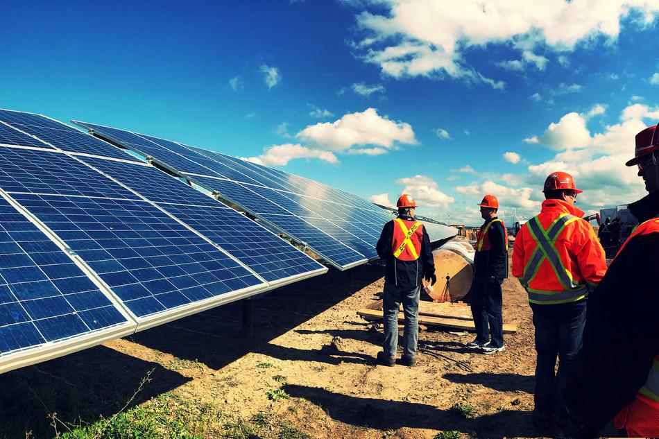 Nanticoke Solar Facility (CNW Group/Ontario Power Generation Inc.)