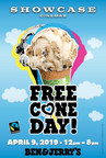 Showcase Cinemas Is Offering the Sweetest Bargain Tuesday Ever on Ben & Jerry's Free Cone Day