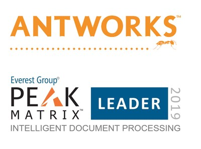Everest Group designa a AntWorks™ como líder en Procesamiento Inteligente de Documentos en la Evaluación PEAK Matrix™ 2019
