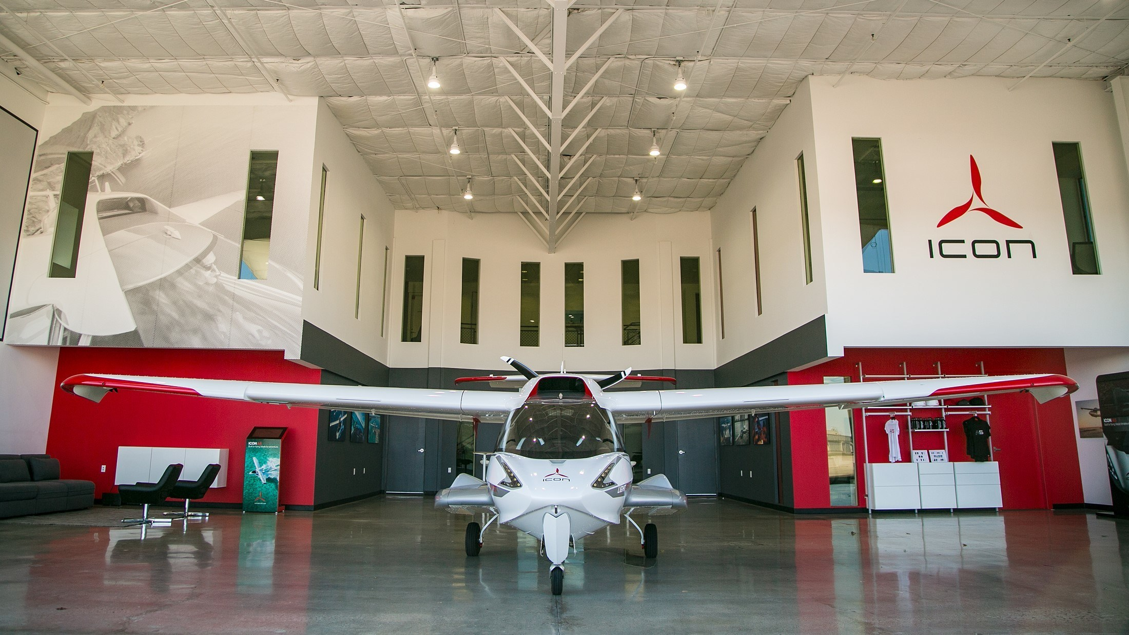 Magnificent Icon Aircraft Unveils Southern California Showroom And Demo Download Free Architecture Designs Scobabritishbridgeorg