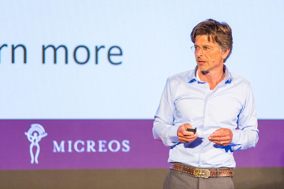 Micreos raises €30 Million for endolysin technology set to replace antibiotics (PRNewsfoto/Micreos)