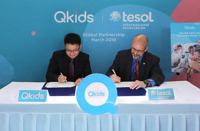 Qkids Launches Global Strategic Partnership with TESOL International Association