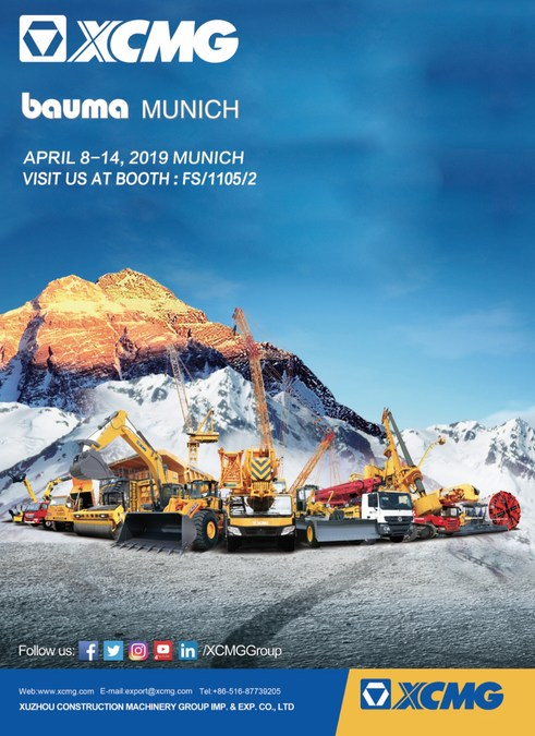 XCMG to Bring Latest Machinery and Construction Solutions to