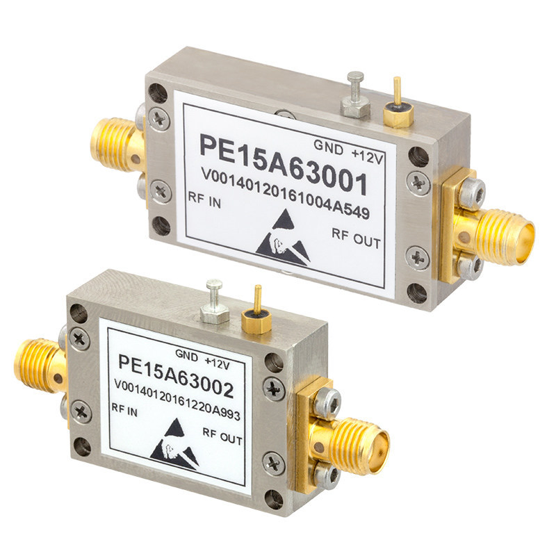 Pasternack Introduces New Line of Input-Protected Low-Noise Amplifiers that Provide Noise Figure Levels as Low as 0.8 dB