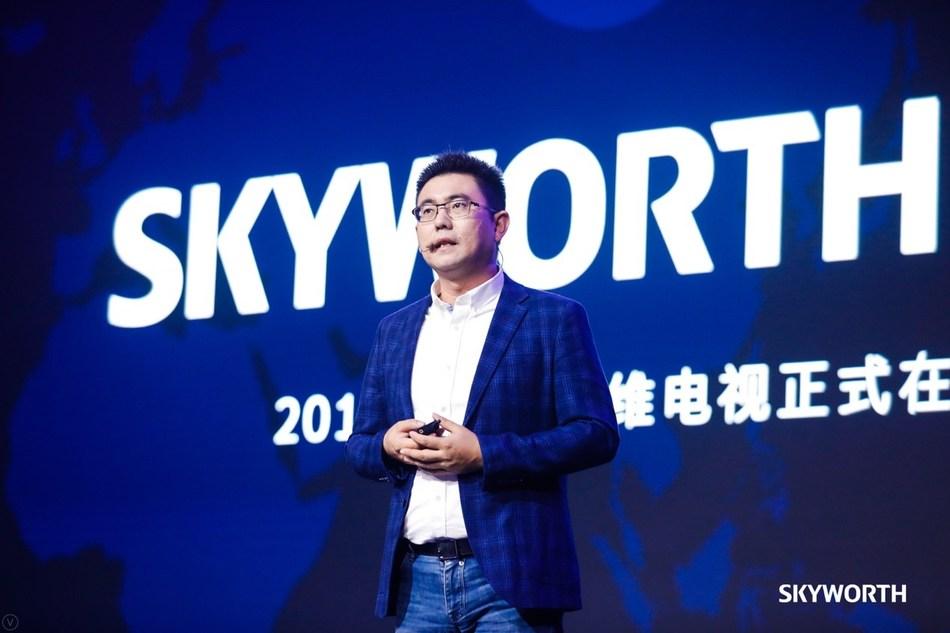 Mr. Tony Wang, Chief Executive Officer of SKYWORTH TV (PRNewsfoto/SHENZHEN CHUANGWEI-RGB ELECTRON)