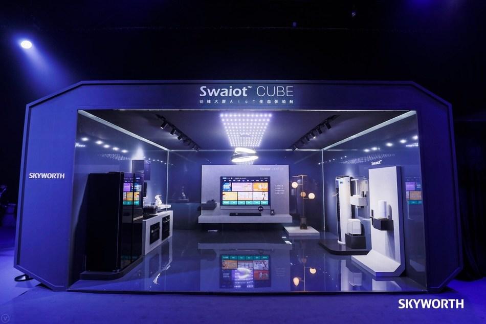 SKYWORTH TV Spring Product Launch 2019 – Experience Zone (PRNewsfoto/SHENZHEN CHUANGWEI-RGB ELECTRON)