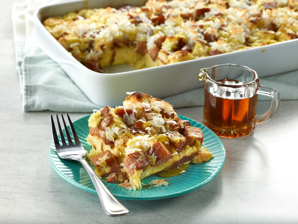 SPAM® Baked French Toast