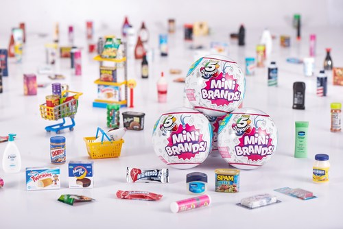 Zuru 5 Surprise Mini Brands are realistic miniatures of the world's most iconic and loved shopping brands.
