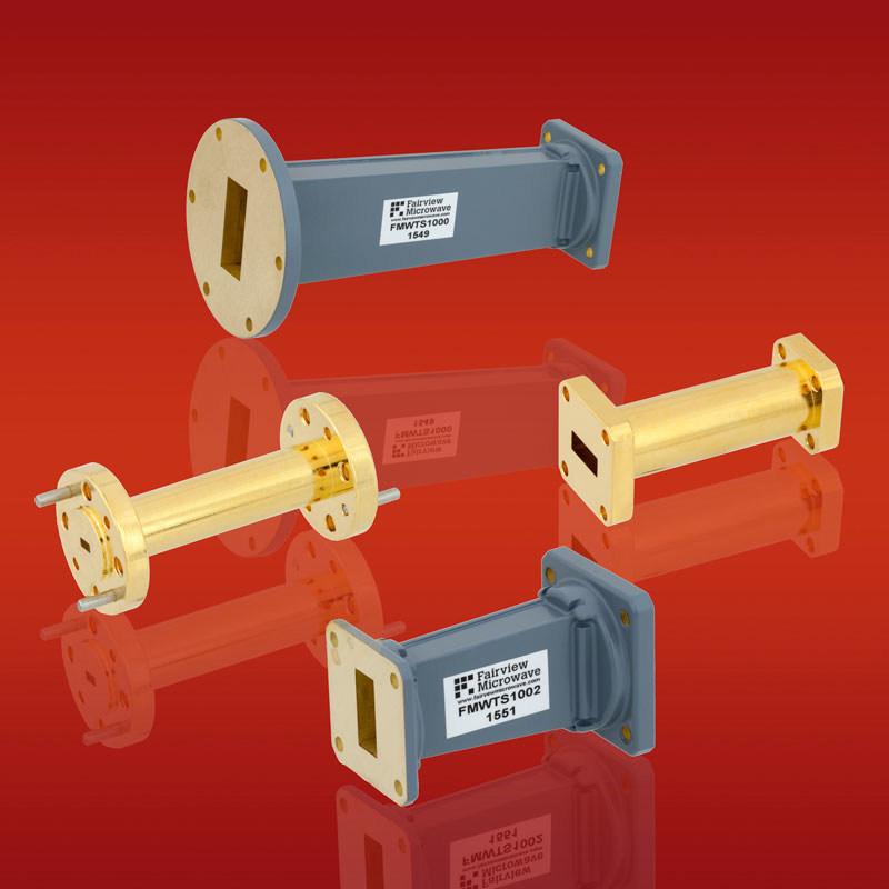 Fairview Microwave Releases New Series of Waveguide-to-Waveguide Transitions that Deliver Minimal Loss and VSWR as Low as 1.08:1