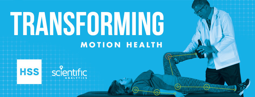 Scientific Analytics and HSS –& Transforming Motion Health