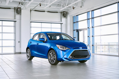 The all-new 2020 Toyota Yaris Hatchback combines technology, cargo capacity and practicality.