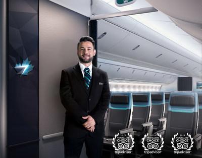 WestJet triples its win as Best Airline in Canada (CNW Group/WESTJET, an Alberta Partnership)