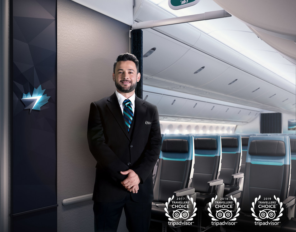 WestJet triples its win as Best Airline in Canada (CNW Group/WESTJET, an Alberta Partnership)