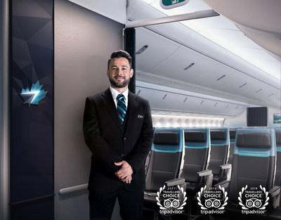 WestJet triple ses nominations à titre de meilleure compagnie aérienne au Canada (Groupe CNW/WESTJET, an Alberta Partnership)