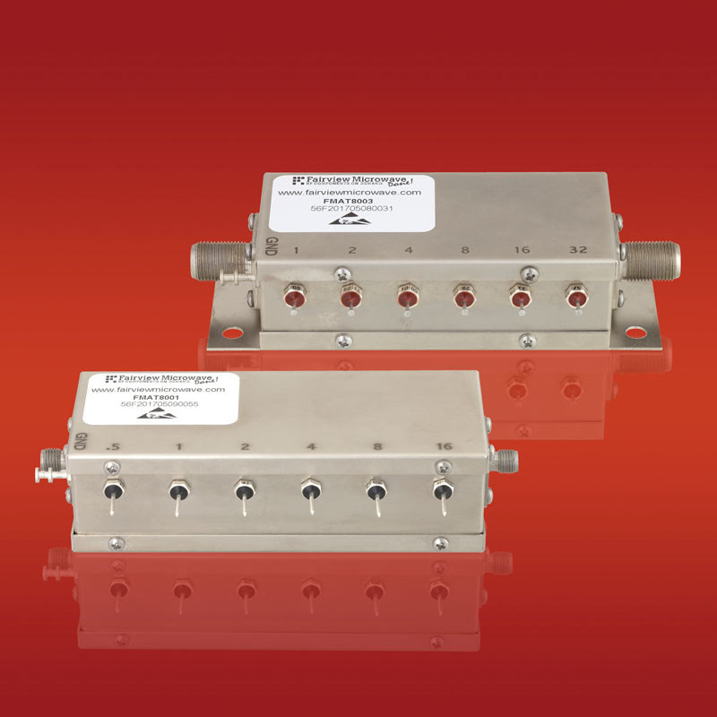 Fairview Microwave Launches New Line of Relay Controlled Programmable Attenuators that Cover Broadband Frequencies from DC to 2000 MHz