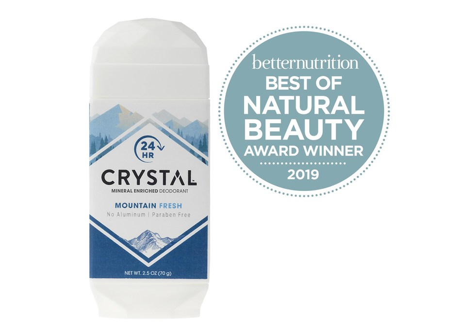 CRYSTAL® Mineral-Enriched Deodorant