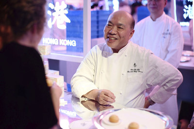 Michelin-Star Chef Chan Yan Tak of Lung King Heen at Four Seasons Hotel Hong Kong.